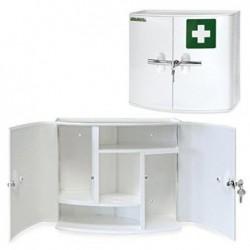 LEINA-WERKE Armoire à pharmacie Sani Cab 2 portes Livrée vide Blanc
