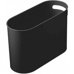HELIT corbeille à papier Design Classics, 22 litres, PS,noir