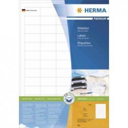 HERMA Etiquettes PREMIUM sur 200 Feuilles A4, 48,3 x 25,4 mm, blanc