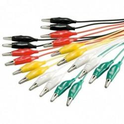 GOOBAY Kit de 10 Câbles de test 5 couleurs 480 mm Assortis
