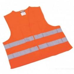 LEINA-WERKE Gilet de signalisation/sécurité, normes EN 471, orange