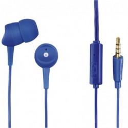 """HAMA Micro-casque intra-auriculaire """"Basic"""", bleu"""