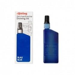 ROTRING Flacon 23 ml encre de chine pour isograph/Variant Bleu