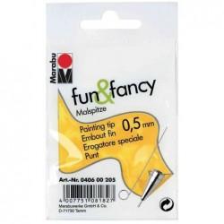 "MARABU Embout fin ""fun & fancy"", largeur de tracé: 0,5 mm"
