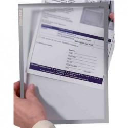 FRANKEN Pochette magnétique FRAME IT X-tra!Line, format A3, Gris