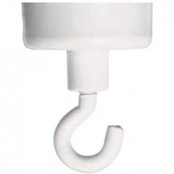 FRANKEN Aimant à crochet Diam 37 mm force adhésive 10 Kg Blanc