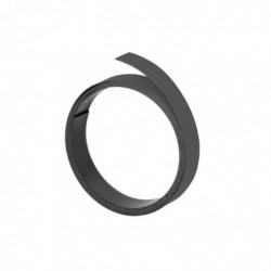 FRANKEN Bande magnétique, (L)1.000 x (P)15 x (H)1 mm, noir