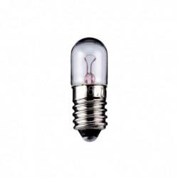 GOOBAY Ampoule Tubulaire 2 W Culot E10 6,3 V (DC) 320 mA H 28 mm