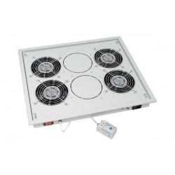 """TRITON Unité de ventilation 19"""", 4 ventilateurs de 12 mm,"""