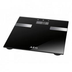AEG Pèse-personne analyse en verre 7 en1 PW 5644 FA Noir