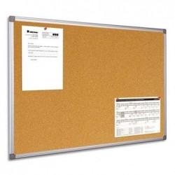 BI-OFFICE Tableau d'affichage liège cadre PVC 60 x 90 cm
