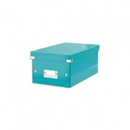LEITZ Boîte de rangement Leitz Click & Store- Format DVD Vert menthe