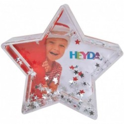 "HEYDA boule de neige ""étoile brillante"""