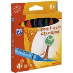 LEFRANC BOURGEOIS Crayons à la cire, diamètre: 14 mm
