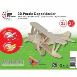 "MARABU mara by Marabu Puzzle 3D ""avion biplan"""