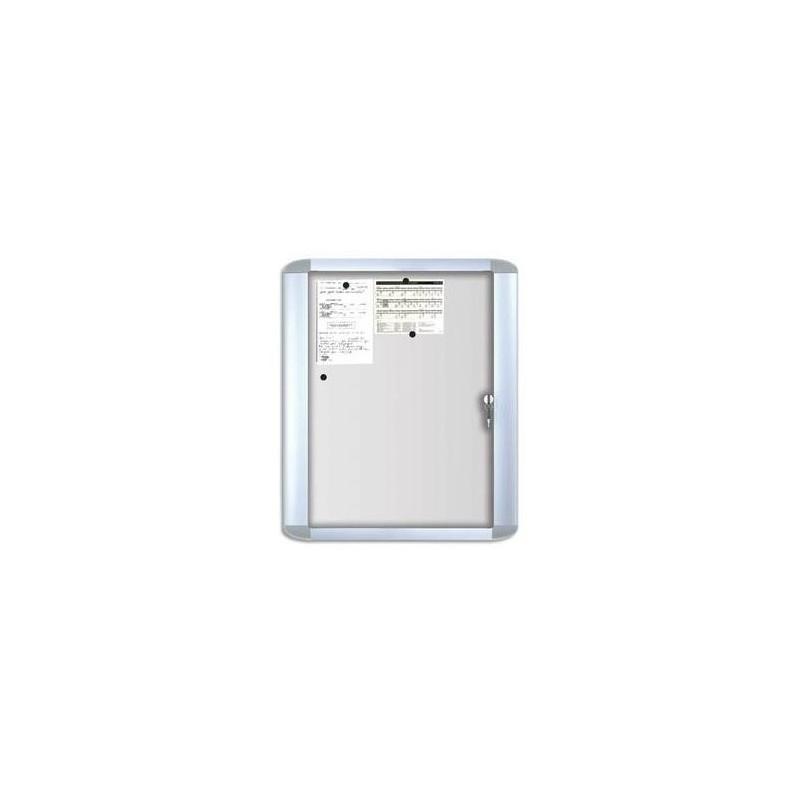 Bi office vitrine d 39 int rieur mastervision porte verre for Porte interieur laque blanc