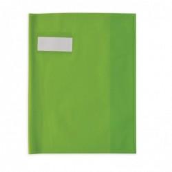 ELBA Protège-cahier Styl'SMS 17x22 cm pvc 120 avec Porte-étiquette Vert