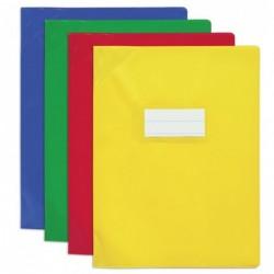 ELBA Lot de 25 Protège-cahier PVC 150 Strong Line 24x32 cm Opaque Assorti