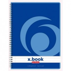 HERLITZ Carnet x.book A5,...