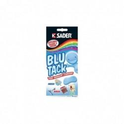 SADER Plaquette de 100 g pâte adhésive Blu-Tack