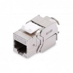 DIGITUS Lot de 24 Modules Keystone Professional CAT 6A  blindé, installation sans outil