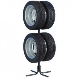 """UNITEC Support pour pneus et jantes Pour 4 pneus de voiture 17"""""""
