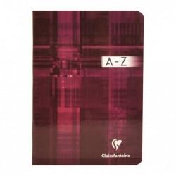 CLAIREFONTAINE Répertoire vocabulaire 14,8x21 96p ligné + marge centrale Coloris Aléatoire