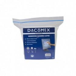 DACOMEX Sachets de 50 chiffons blancs