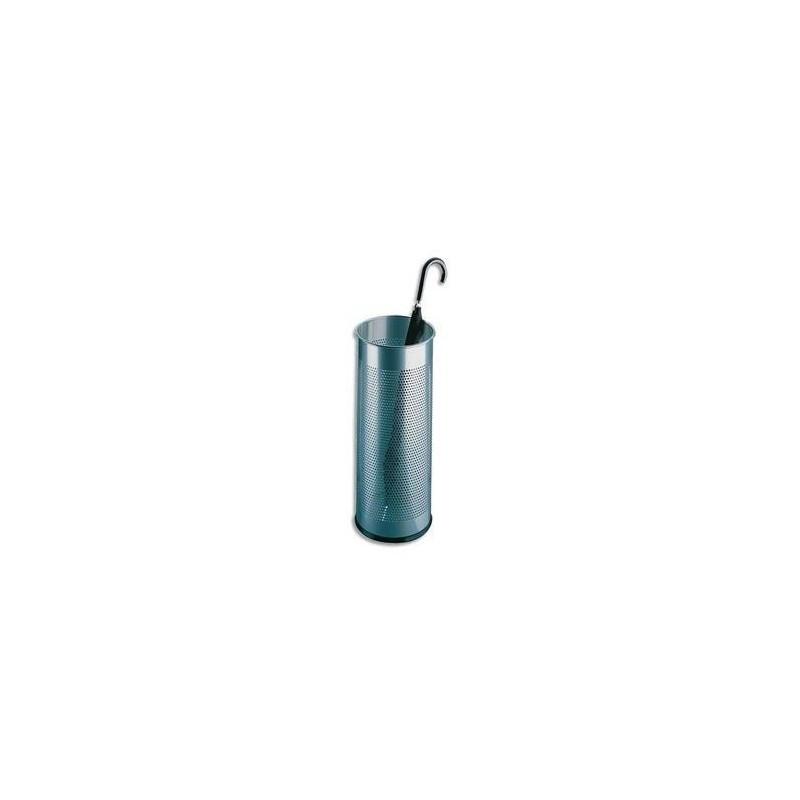 DURABLE ROSSIGNOL Porte-parapluie tôle perforée gris métal 28,5 litres Diam 26 x H62 cm