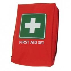 "LEINA-WERKE LEINA Kit mobile premiers soins ""First Aid"", rouge"