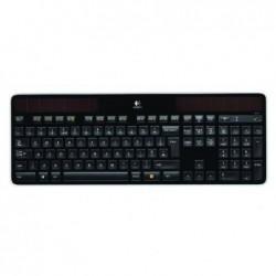 LOGITECH Clavier sans-fil Solaire K750 Compatible PC Unifying AZERTY Noir