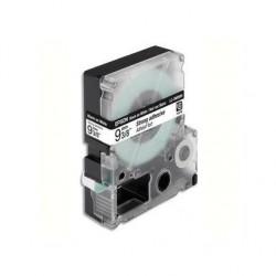 EPSON cassette pour LW-300/400/900P Adhésif Fort Noir sur Blanc 9/9 C53S624406