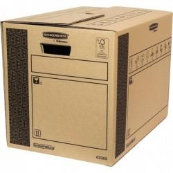 FELLOWES Lot de 10 BANKERS BOX Cargo carton SmoothMove Heavy 35x37x50 cm