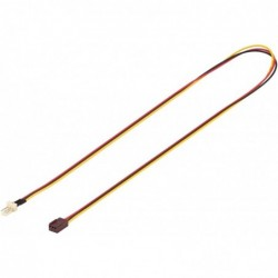 GOOBAY Alimentation interne PC 3 pin Mâle Femelle 60 cm