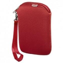 HAMA Etui Néoprène pour disque dur externe 2,5 pouces Rouge