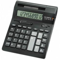OLYMPIA Calculatrice de bureau LCD-612 SD