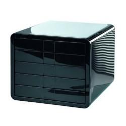 HAN Module de classement 5 tiroirs ilook noir 29,5x35,5x24,7 cm