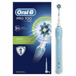 ORAL-B Brosse a dents électrique rechargeable - ORAL-B PRO 700 Cross Action