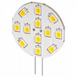 GOOBAY Spot à LED intégré 2 W br base G4, remplace 22 W, 190 lumen