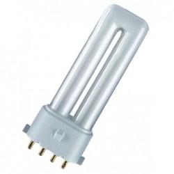 OSRAM Lampe fluocompacte DULUX S/E 9 Watt Culot 2G7 600 lumen Blanc chaud