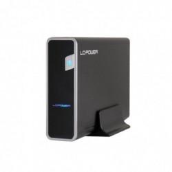 """LC POWER Boîtier externe USB 3.0 pour disque dur 3,5"""" SATA Noir 8.9cm"""