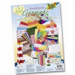 FOLIA kit de bricolage de papier tendance 322 pièdes