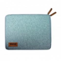 """PORT Folio torino sleeve gris pour portable 13,3/14"""""""
