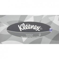 KLEENEX Boîte de 100 mouchoirs Blanc