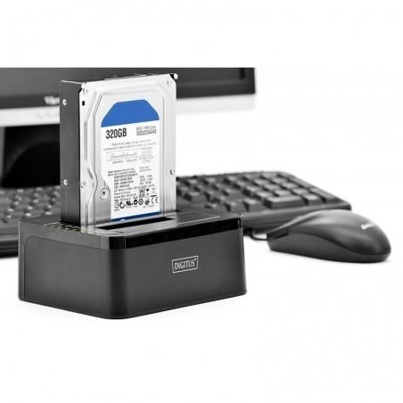 DIGITUS station d'accueil pour disques durs USB 3.0, SATA