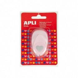 APLI Perforateur fantaisie Coeur  16 mm