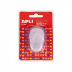 APLI Perforateur fantaisie Etoile  16 mm