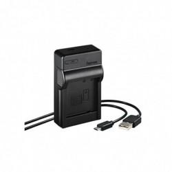 """HAMA Chargeur USB """"Travel"""" pour Panasonic DMW-BLG10"""