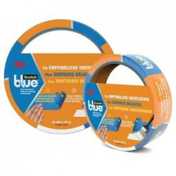 SCOTCH Ruban adhésif de masquage 36 mm x 50 m Intérieur / Exterieur Bleu