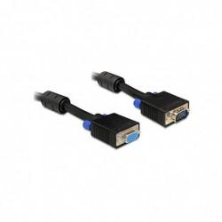 DELOCK Cable Rallonge VGA Mâle Femelle 5 m